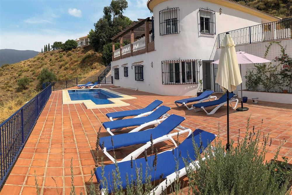 Villa with pool at Villa Las Rosinas, Competa, Andalucia