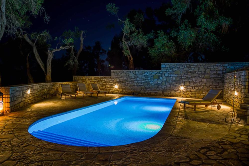 Pool, night shot