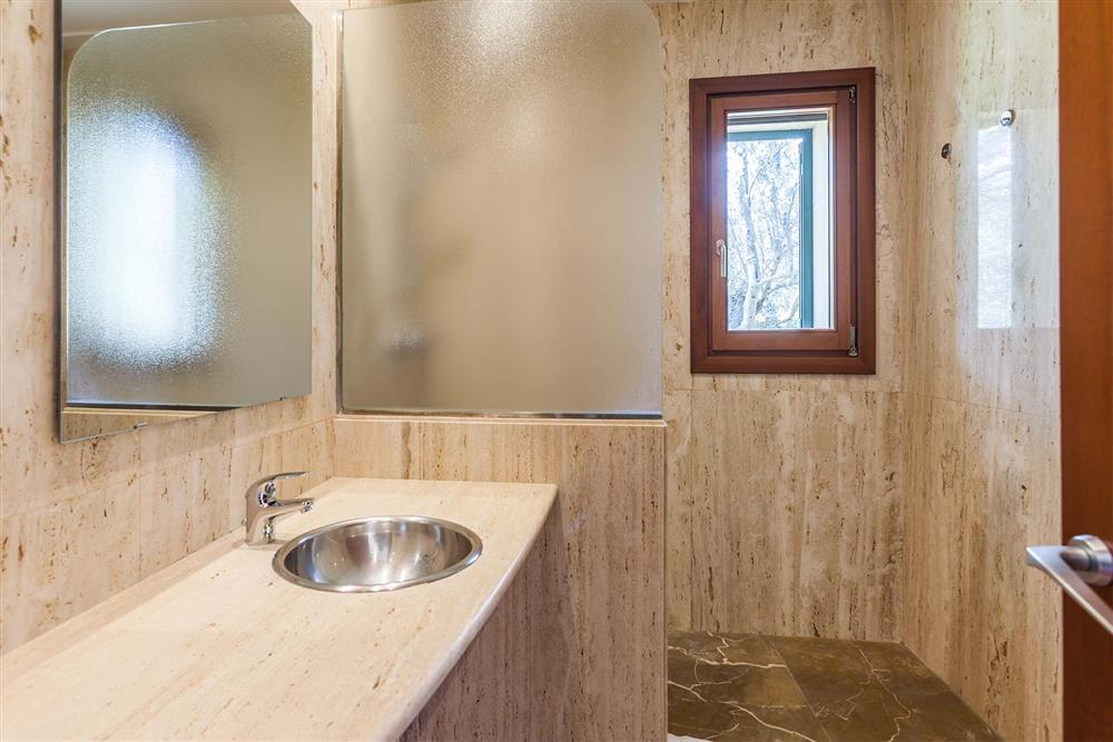 Bathroom (photo 2) at Villa Les Oliveres, Puerto Pollensa, Mallorca