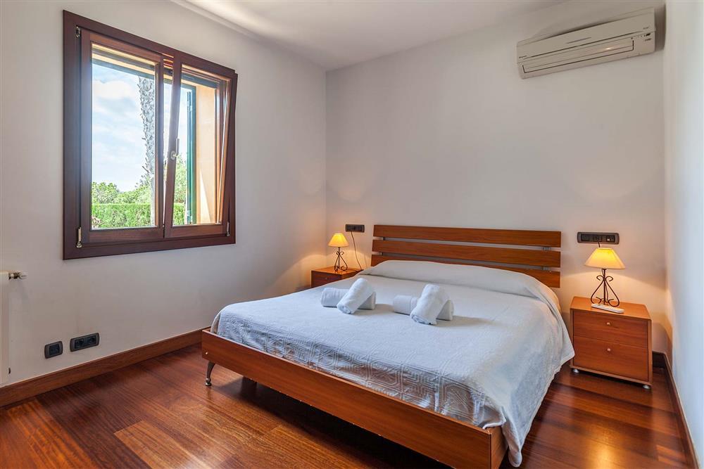 Bedroom (photo 2) at Villa Les Oliveres, Puerto Pollensa, Mallorca