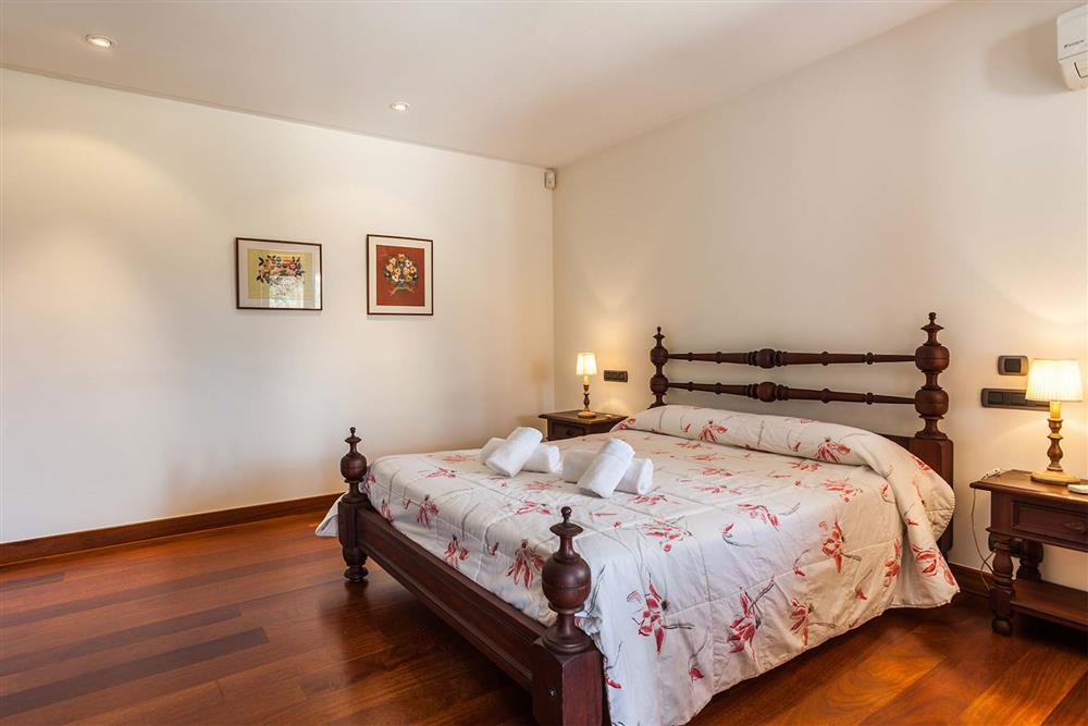 Bedroom at Villa Les Oliveres, Puerto Pollensa, Mallorca