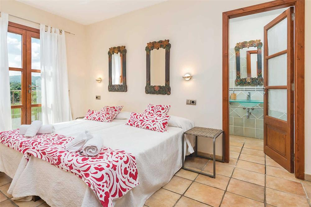 Double bedroom (photo 2) at Villa Les Roques de can Guixe, Pollensa, Mallorca