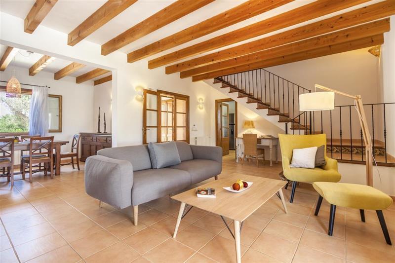 Living room at Villa Lirio, Alcudia, Spain