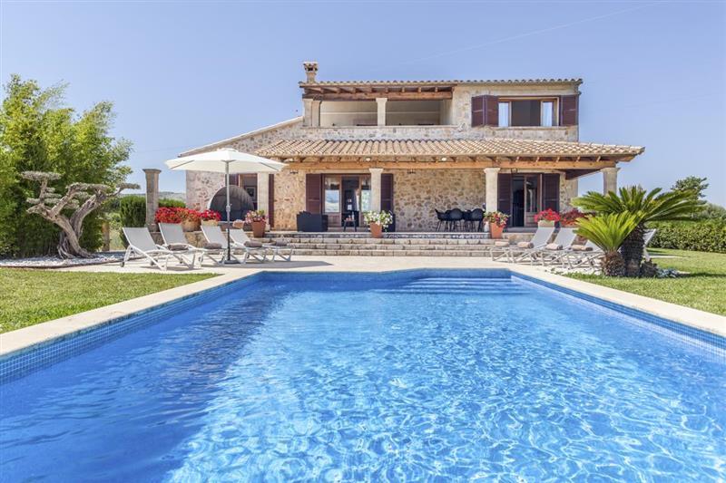 Swimming pool at Villa Lirio, Alcudia, Spain
