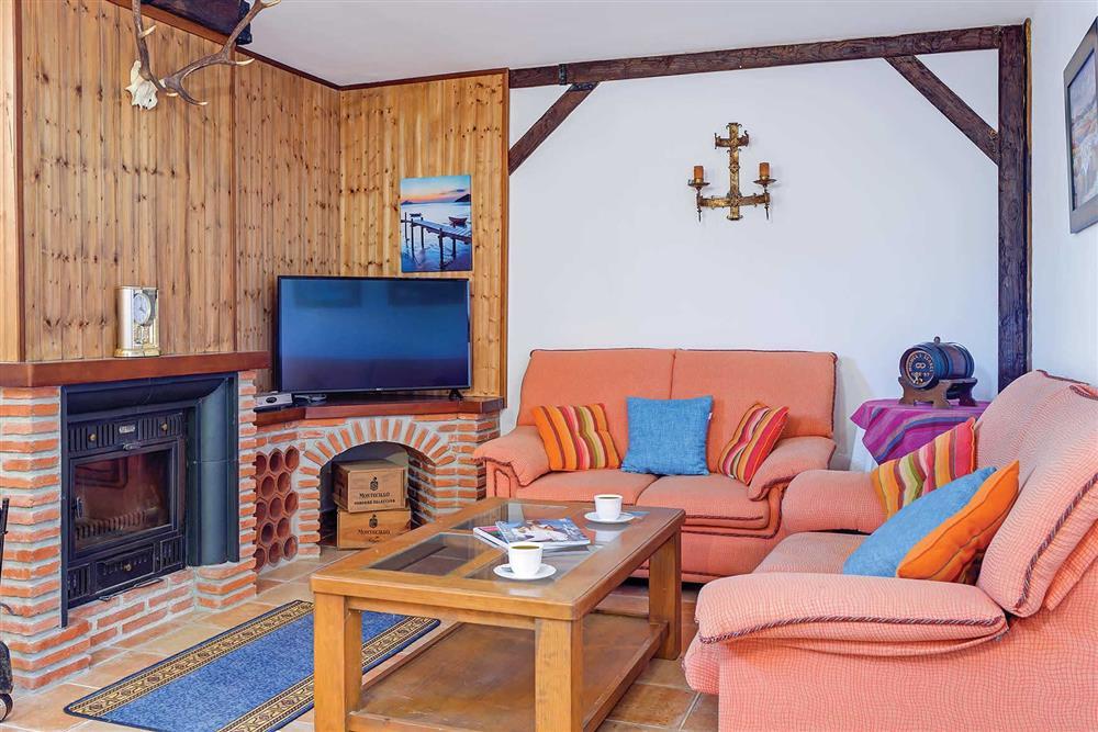 Lounge (photo 6) at Villa Los Tres Soles, Frigiliana, Andalucia