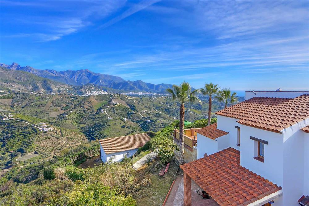 View (photo 2) at Villa Los Tres Soles, Frigiliana, Andalucia