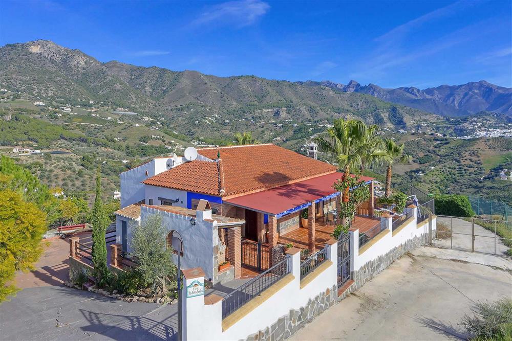 Villa exterior (photo 2) at Villa Los Tres Soles, Frigiliana, Andalucia