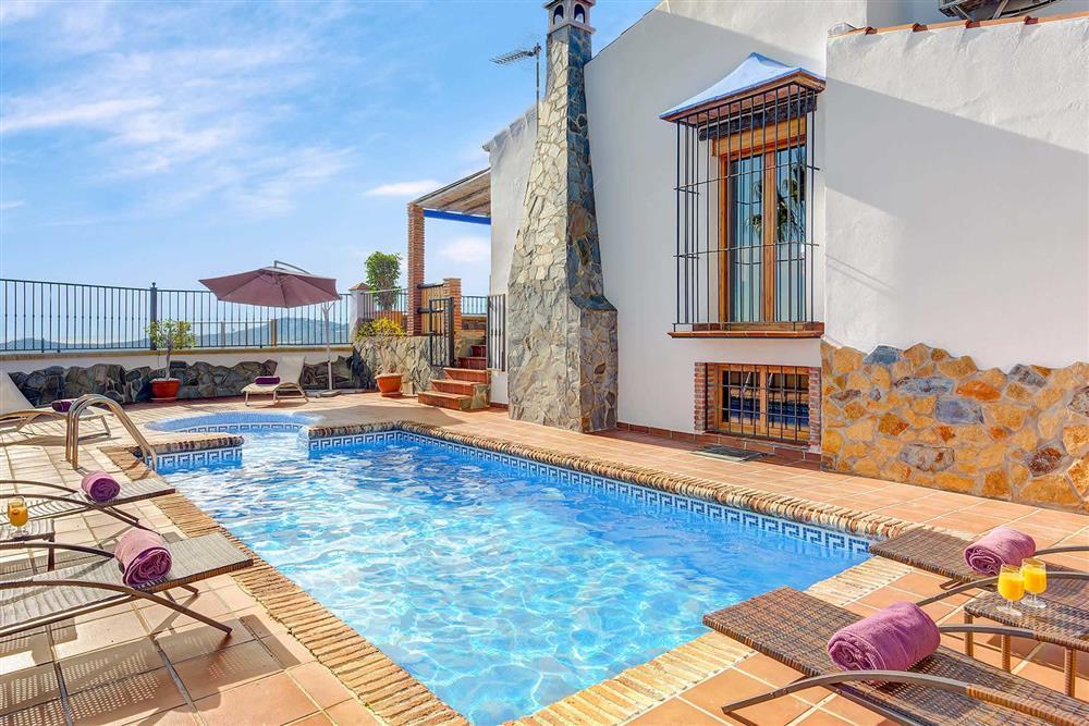 Villa with pool (photo 2) at Villa Los Tres Soles, Frigiliana, Andalucia