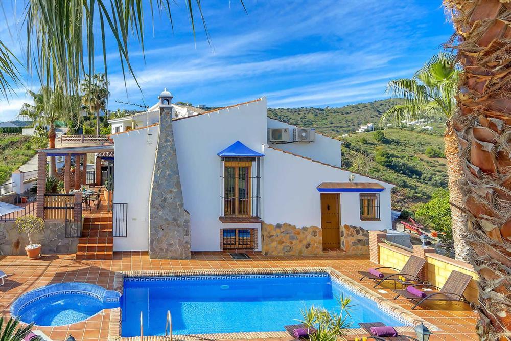 Villa with pool (photo 4) at Villa Los Tres Soles, Frigiliana, Andalucia