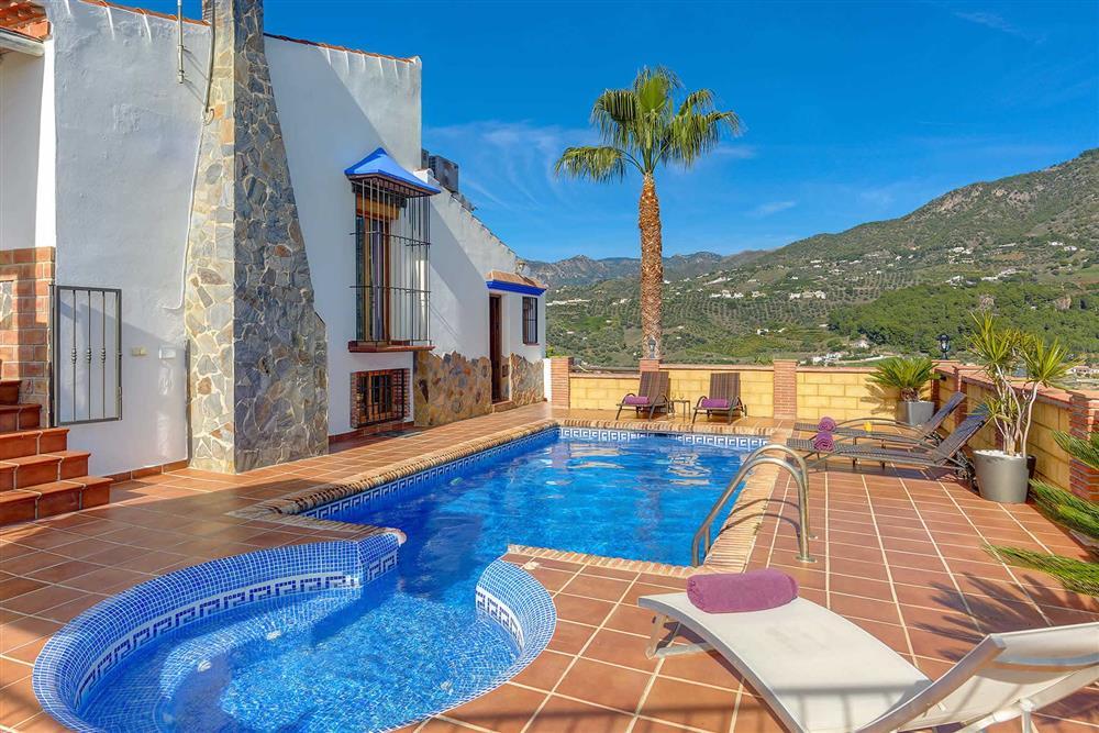Villa with pool at Villa Los Tres Soles, Frigiliana, Andalucia