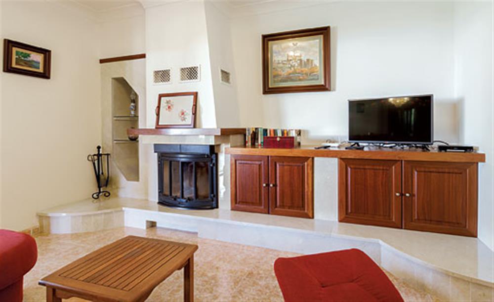 Living room at Villa Manresa, Alcudia, Mallorca