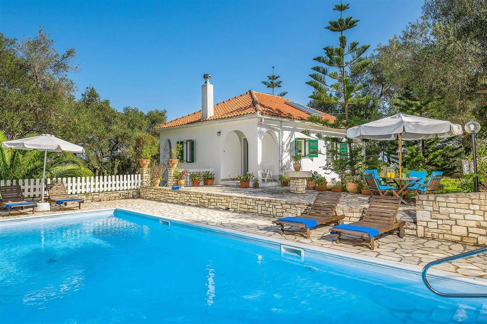Villa exterior, villa with pool