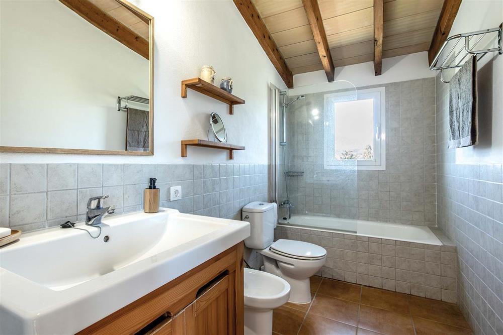 Bathroom at Villa Marina Alto, Pollensa, Mallorca