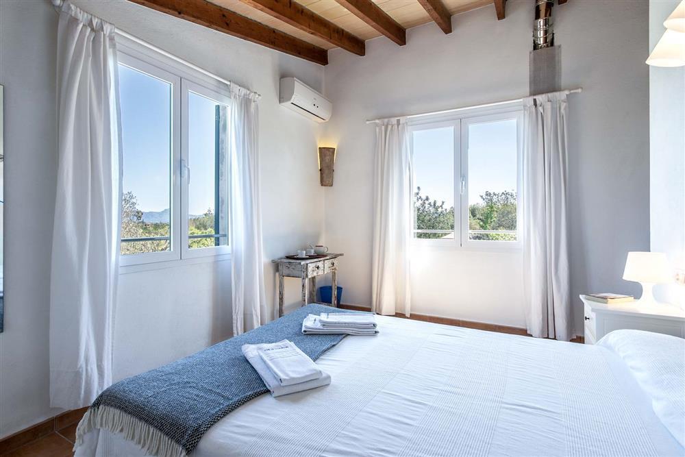 Double bedroom at Villa Marina Alto, Pollensa, Mallorca