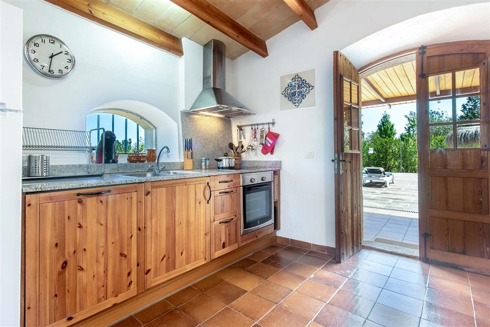 Kitchen at Villa Marina Alto, Pollensa, Mallorca