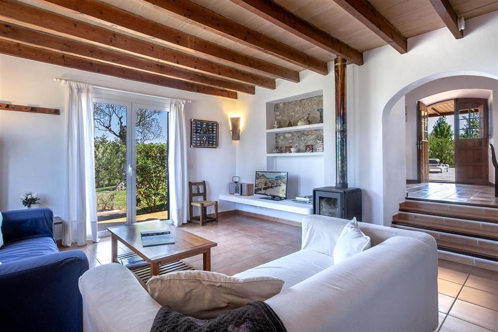 Lounge at Villa Marina Alto, Pollensa, Mallorca