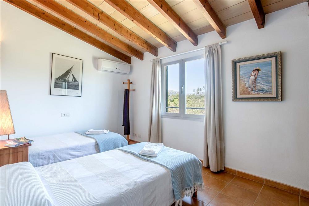 Twin bedroom at Villa Marina Alto, Pollensa, Mallorca