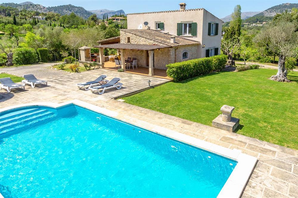 Villa with pool, garden, covered terrace at Villa Marina Alto, Pollensa, Mallorca