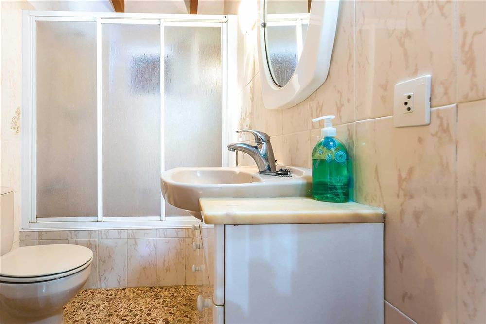 Bathroom at Villa Moreno, Pollensa, Mallorca