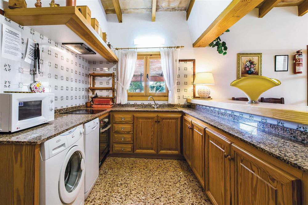 Kitchen at Villa Moreno, Pollensa, Mallorca