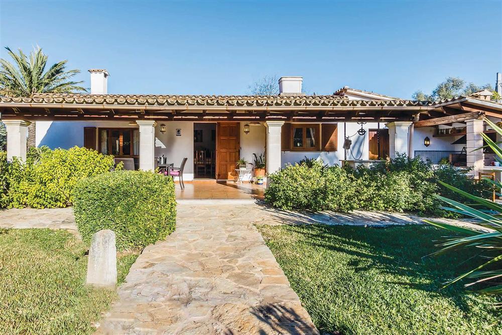 Villa exterior at Villa Moreno, Pollensa, Mallorca