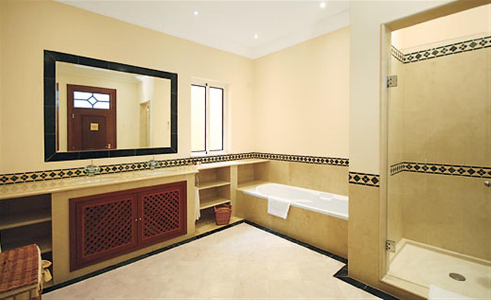 Bathroom at Villa Palheiro Sea Villa, Palheiro Golf Resort Madeira, Portugal