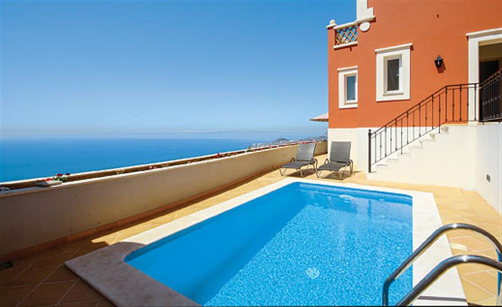 Swimming pool with sea views at Villa Palheiro Sea Villa, Palheiro Golf Resort Madeira, Portugal