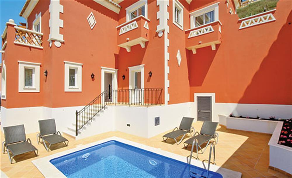 Swimming pool at Villa Palheiro Sea Villa, Palheiro Golf Resort Madeira, Portugal