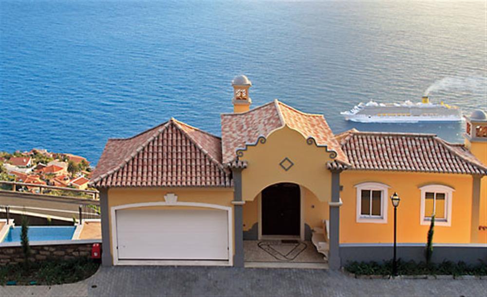 The sea at Villa Palheiro Sea Villa, Palheiro Golf Resort Madeira, Portugal