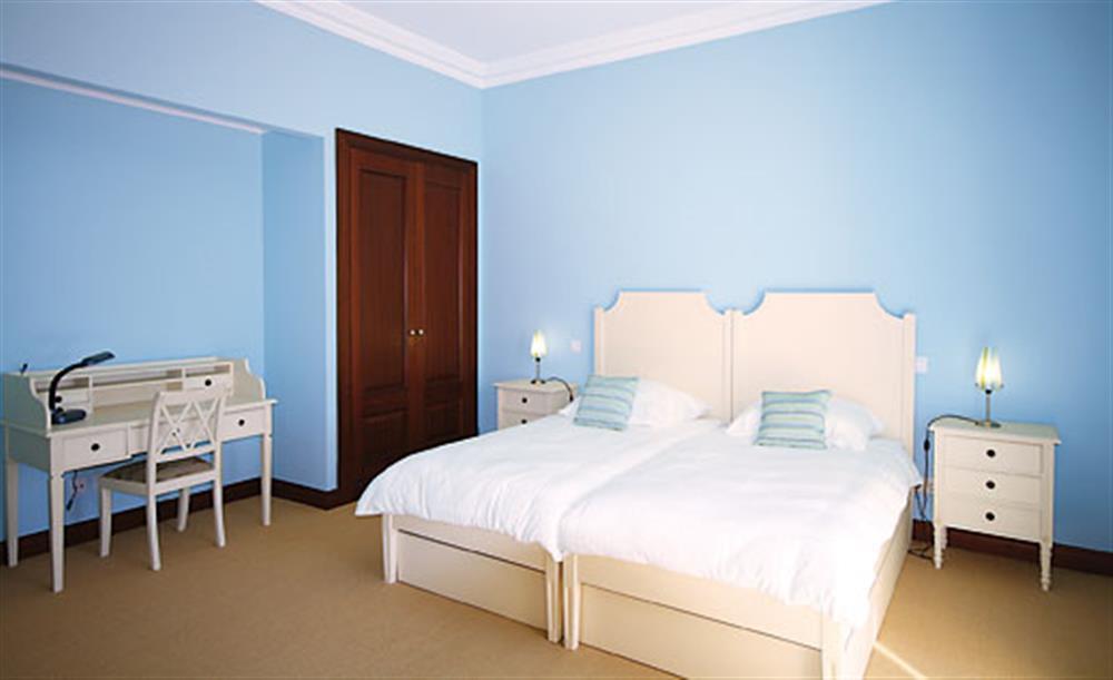 Twin bedroom at Villa Palheiro Sea Villa, Palheiro Golf Resort Madeira, Portugal
