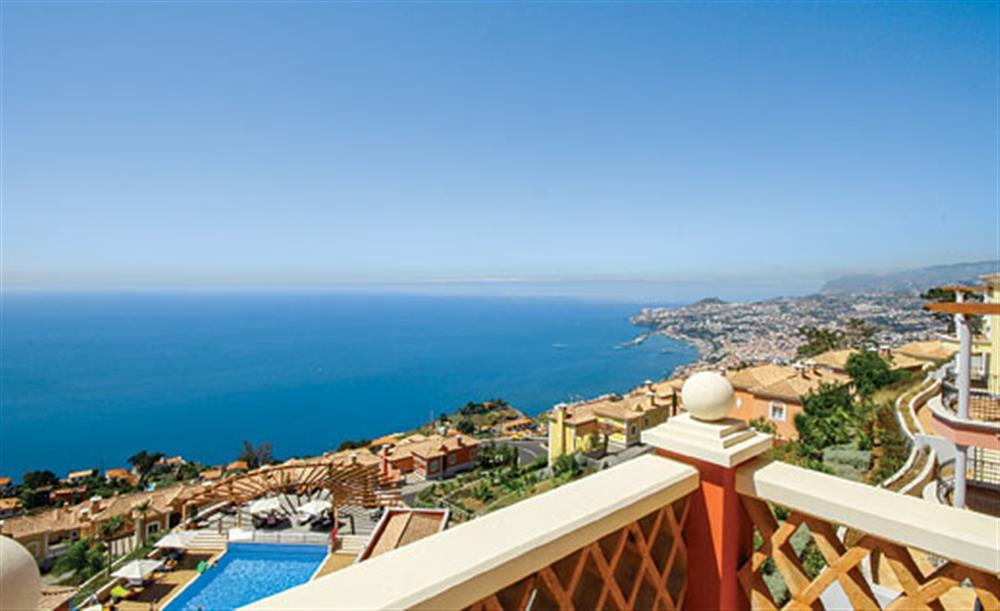 Views across the sea at Villa Palheiro Sea Villa, Palheiro Golf Resort Madeira, Portugal