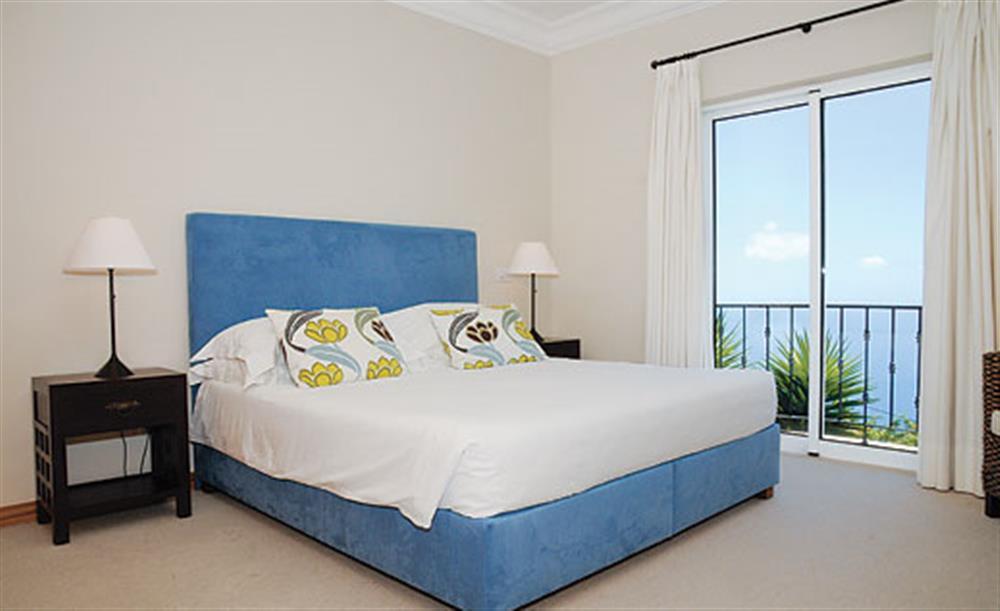 Double bedroom at Villa Palheiro Villa, Palheiro Golf Resort Madeira, Portugal