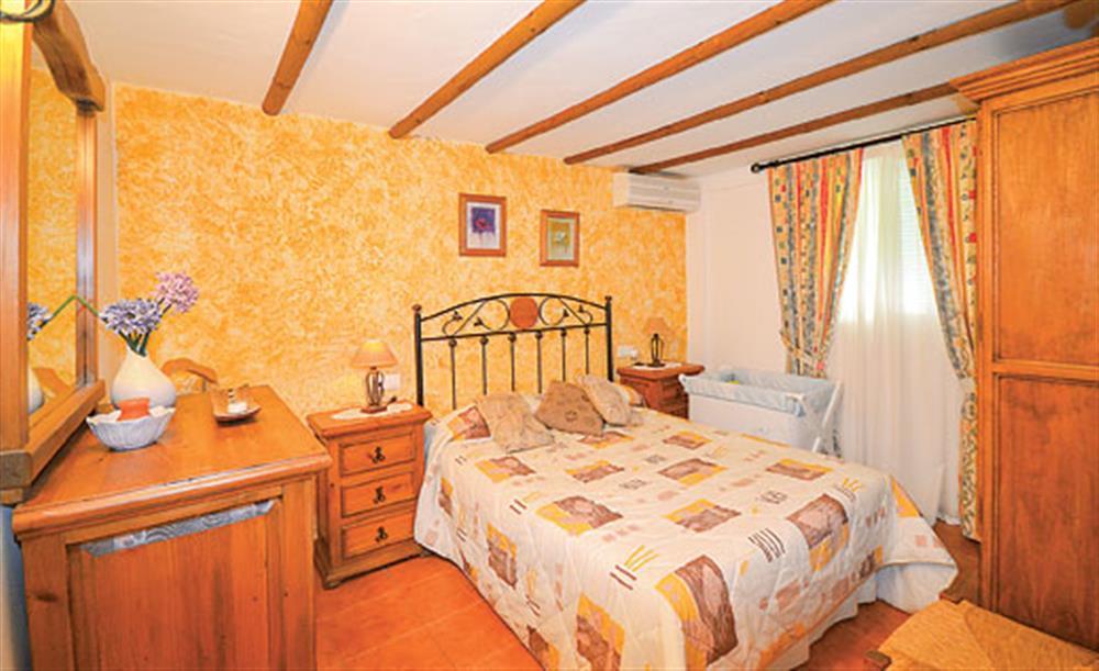 Double bedroom at Villa Paloma, Frigiliana, Andalucia