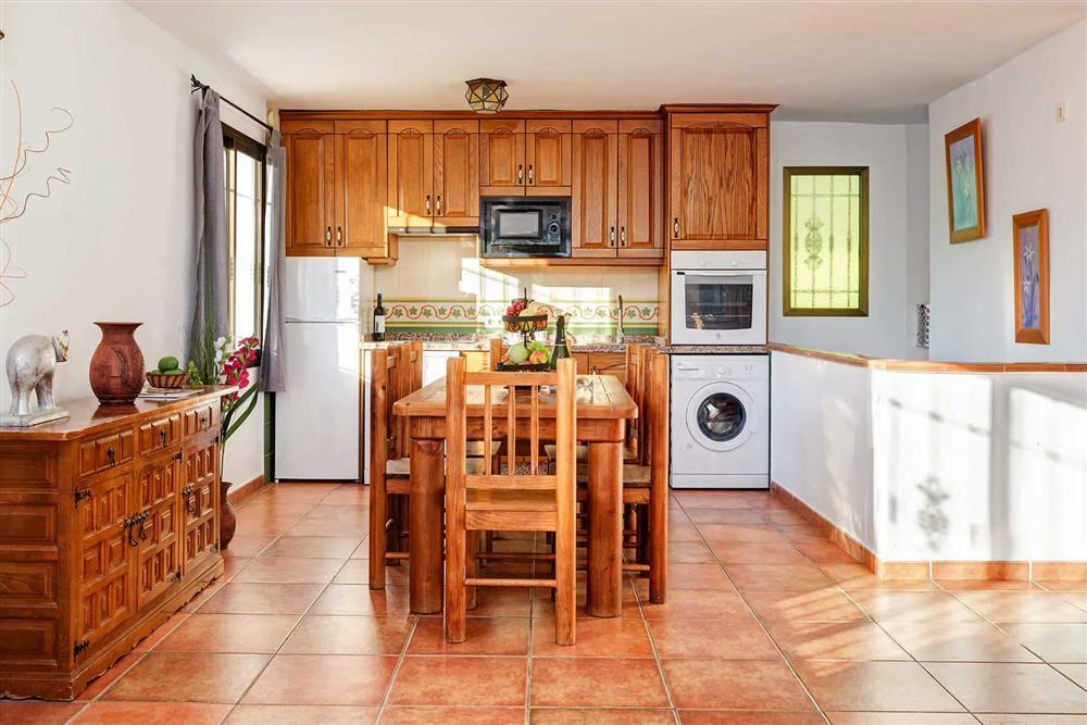 Kitchen/diner (photo 2) at Villa Paraiso, Frigiliana, Andalucia