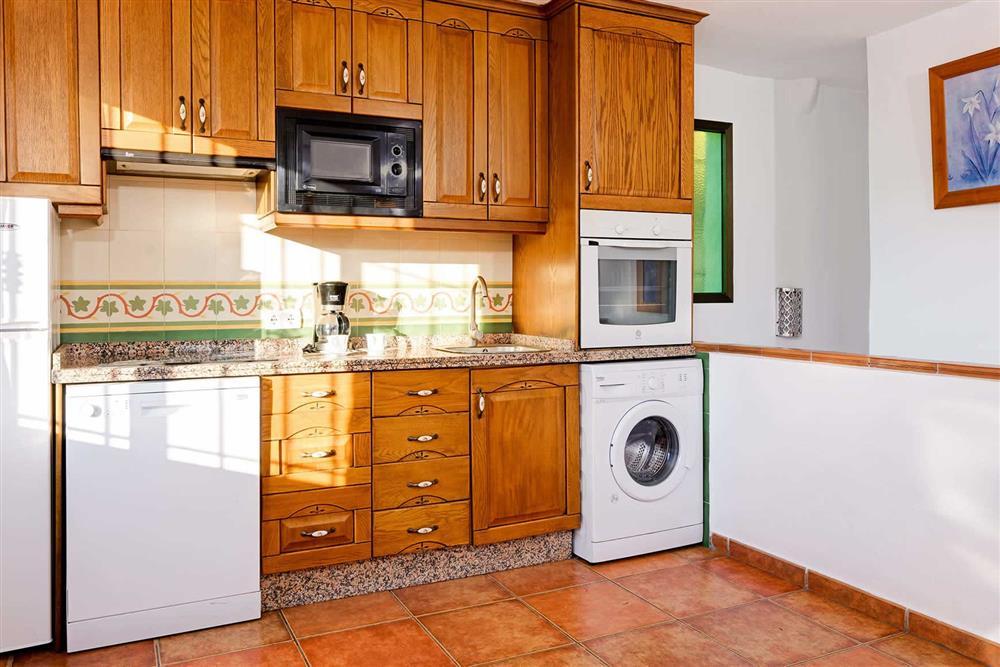 Kitchen at Villa Paraiso, Frigiliana, Andalucia
