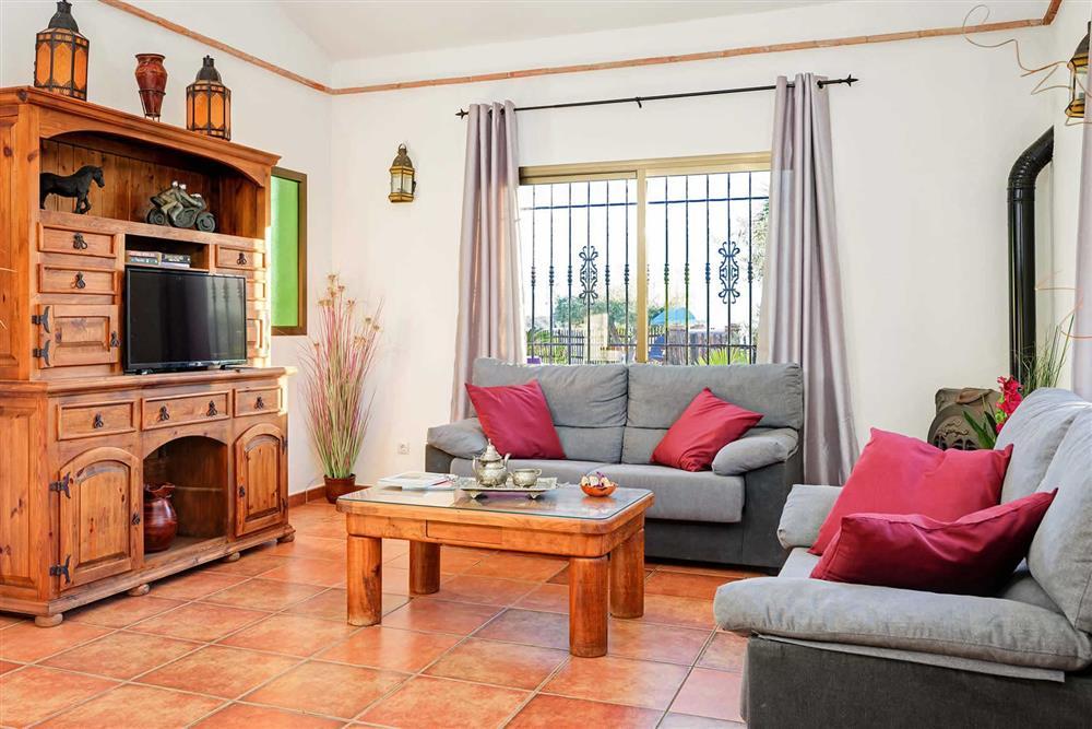 Lounge at Villa Paraiso, Frigiliana, Andalucia