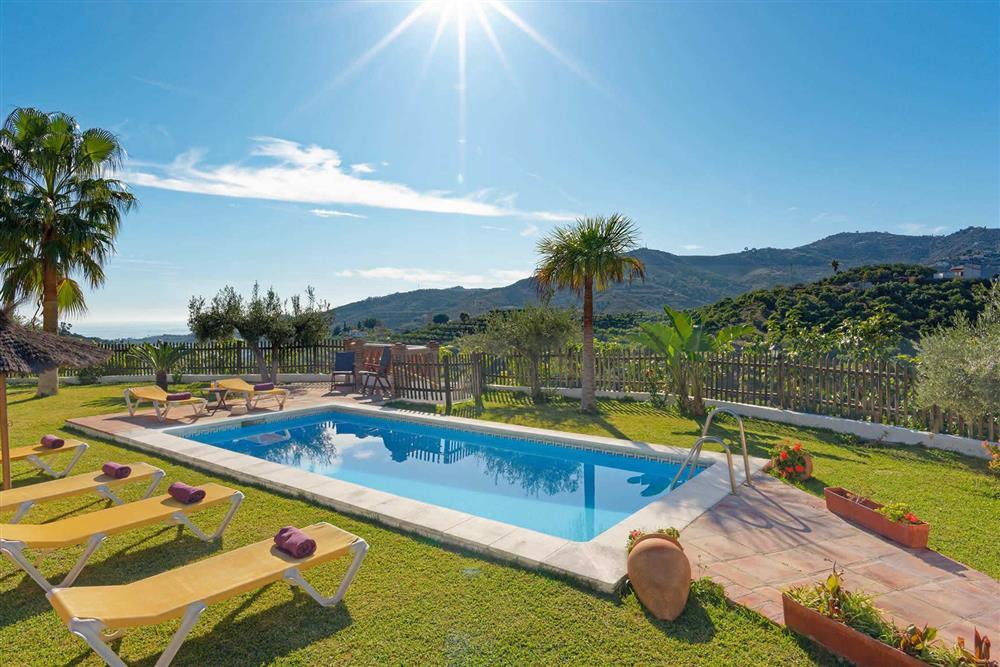 Pool, view (photo 2) at Villa Paraiso, Frigiliana, Andalucia