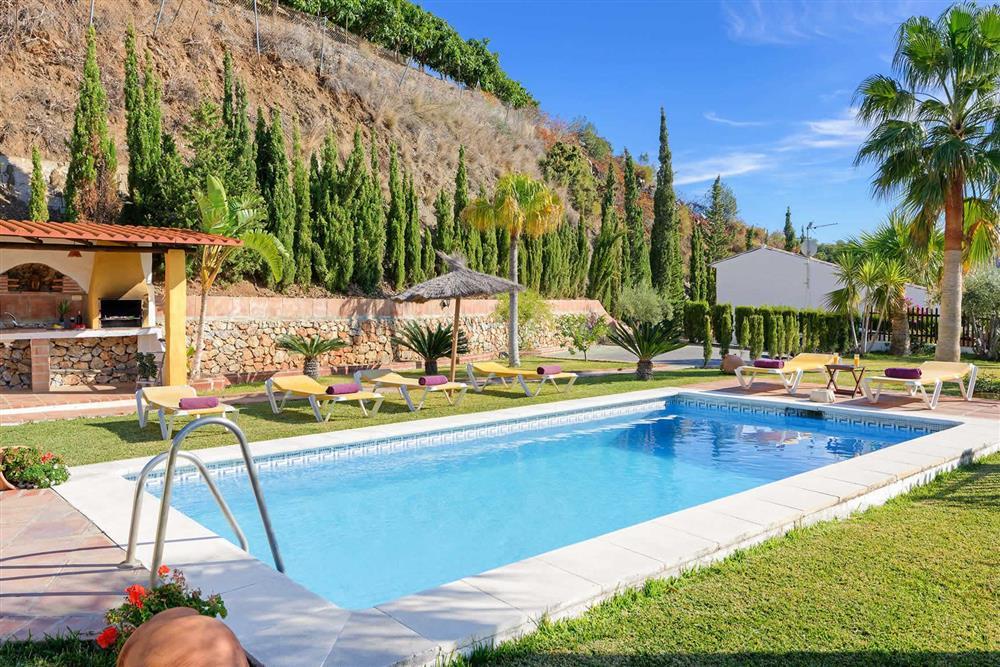 Pool at Villa Paraiso, Frigiliana, Andalucia