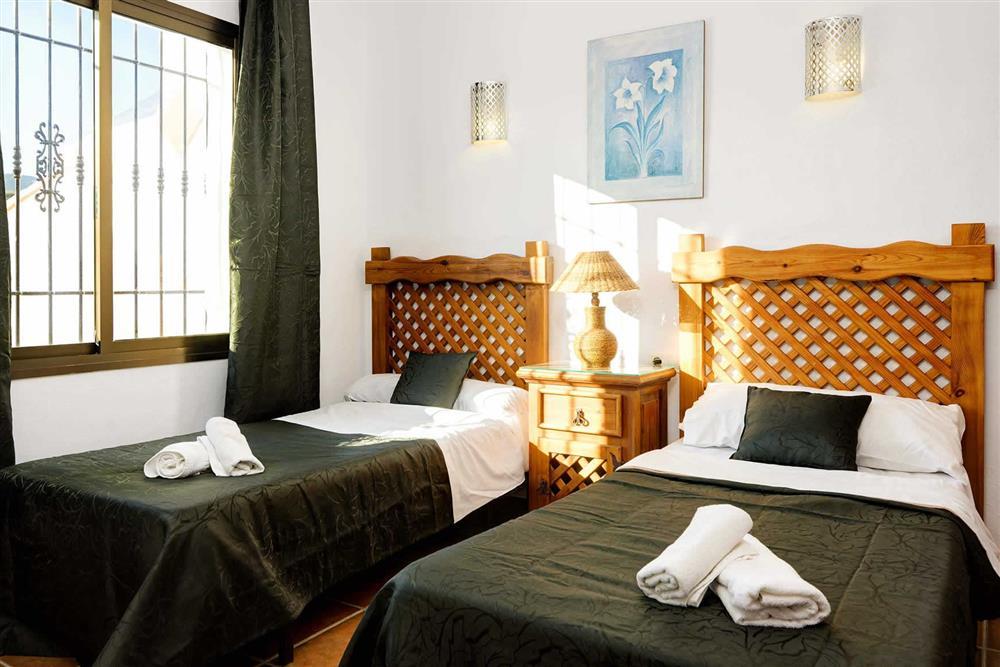 Twin bedroom (photo 2) at Villa Paraiso, Frigiliana, Andalucia