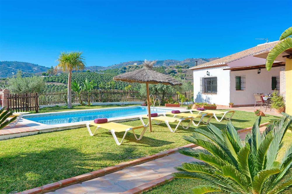 Villa with pool, view at Villa Paraiso, Frigiliana, Andalucia
