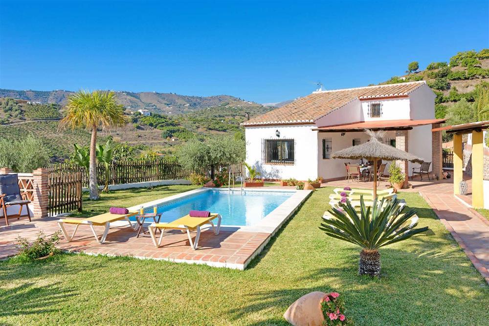 Villa with pool at Villa Paraiso, Frigiliana, Andalucia
