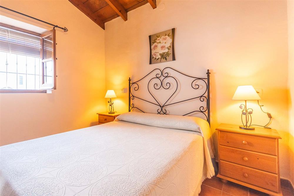 Double bedroom at Villa Porroncico, Nerja, Andalucia