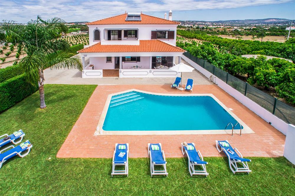 The setting of Villa Ramos at Villa Ramos, Olhos dAgua, Algarve