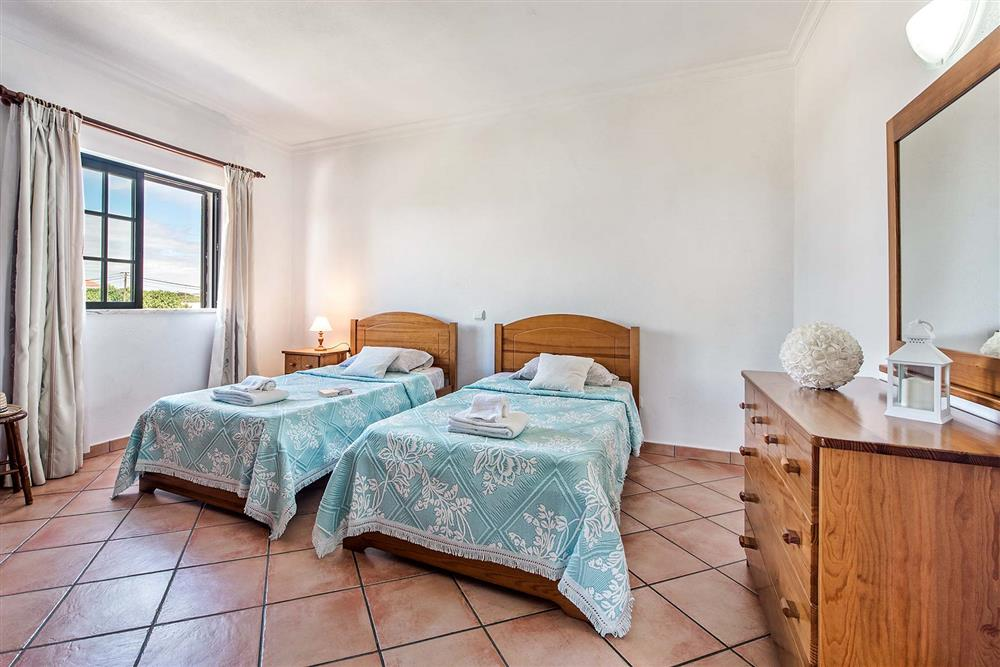 Twin bedroom at Villa Ramos, Olhos dAgua, Algarve
