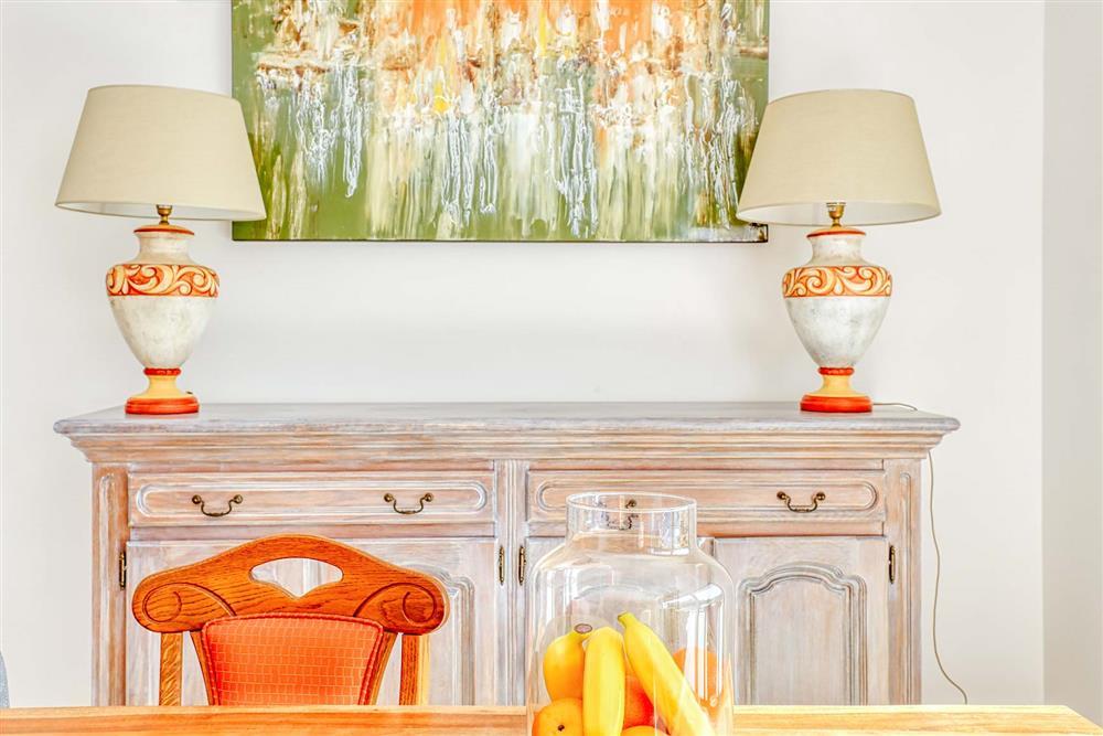 Dining room at Villa Raquel, Vale de Parra, Algarve