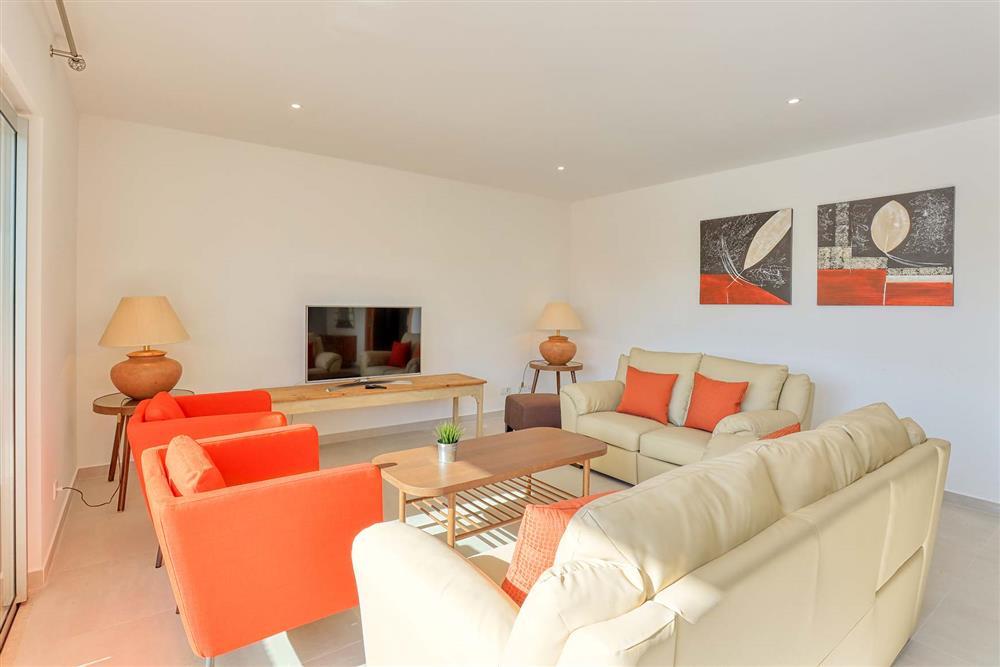 Lounge at Villa Raquel, Vale de Parra, Algarve