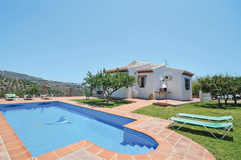 Villa with pool at Villa Robus, Frigiliana, Andalucia