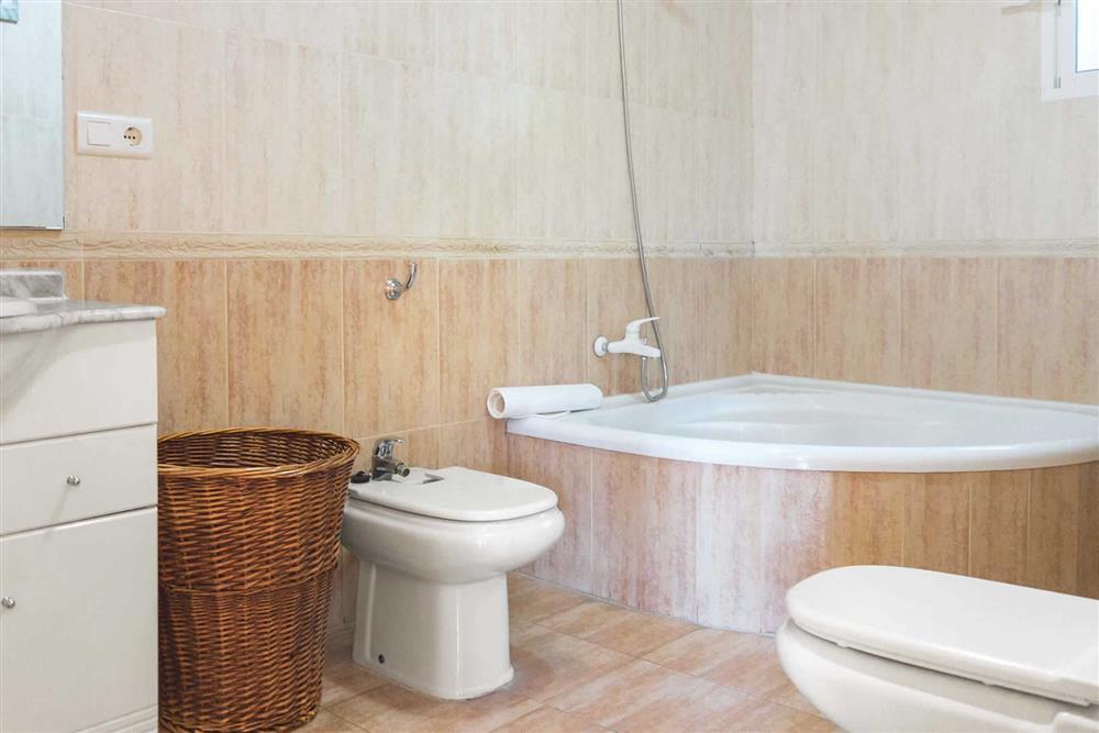 Bathroom at Villa Sanchez Y Rico, Nerja Andalucia, Spain