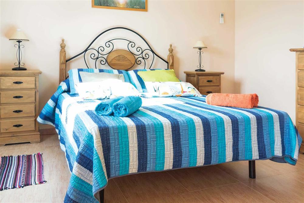 Double bedroom at Villa Sanchez Y Rico, Nerja Andalucia, Spain