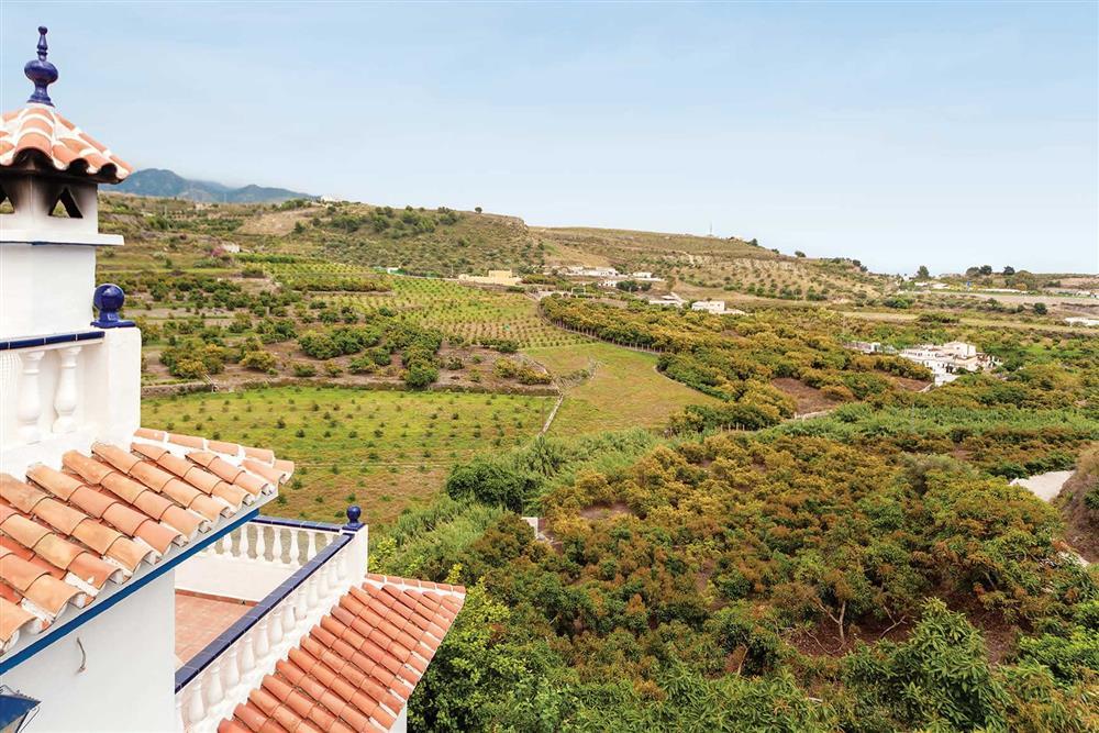 The area around Villa Sanchez Y Rico at Villa Sanchez Y Rico, Nerja Andalucia, Spain
